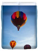 Three Balloons Duvet Cover by Inge Johnsson