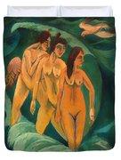 Three Bathers Duvet Cover