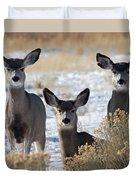 Three Deer Duvet Cover