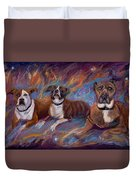 If Dogs Go To Heaven Duvet Cover