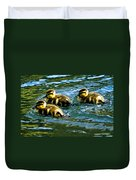 Three Ducklings Duvet Cover