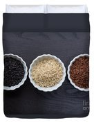Three Kinds Of Rice Duvet Cover