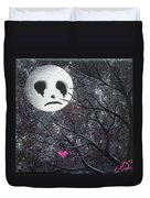 Three Moons Series - Man In The Moon Duvet Cover