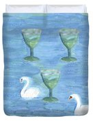 Three Of Cups Duvet Cover