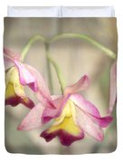 Three Orchid Beauties Duvet Cover