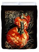 Three Pumpkins Duvet Cover