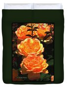 Four Rose At Mcc Duvet Cover