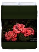 Three Roses Duvet Cover