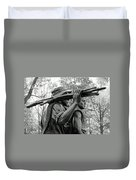 Three Soldiers In Vietnam Duvet Cover