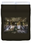 Three Stairs To Nowhere Duvet Cover