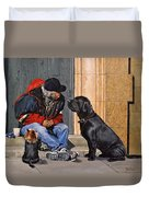 Three Strays Duvet Cover