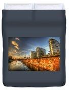 Three Towers Berlin Duvet Cover
