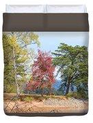 Three Trees Duvet Cover