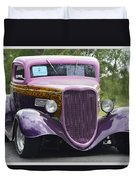 Three Window Coupe Duvet Cover