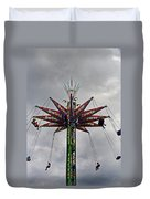 Thrill Tower Duvet Cover by Skip Willits