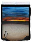 Thriving In The Desert Duvet Cover by Sayali Mahajan