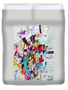 Through Humility One Will Merit A Good Memory Duvet Cover
