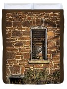 Through Doors And Windows - Abandoned House Duvet Cover