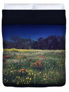 Through The Blooming Fields Duvet Cover