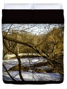 Through The Branches 2 - Central Park - Nyc Duvet Cover