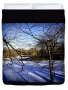 Through The Branches 4 - Central Park - Nyc Duvet Cover