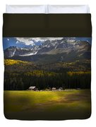 Through The Clouds Duvet Cover
