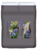 Through The Fence Duvet Cover