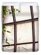 Through The Glass Duvet Cover
