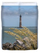 Through The Sea Grass Duvet Cover