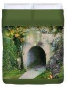 Through The Tunnel Duvet Cover