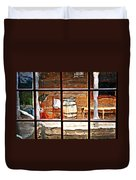 Through The Window Duvet Cover by Marty Koch