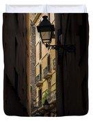 Thru The Narrow Alley Duvet Cover