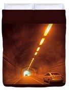 Thru The Tunnel Duvet Cover