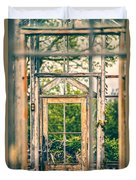 Thru Times Window Duvet Cover
