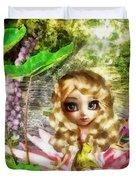 Thumbelina Duvet Cover by Mo T