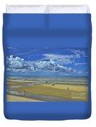 Thumpertown Beach Lowtide Duvet Cover