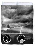 Thunder And Lightning Palm Springs Duvet Cover