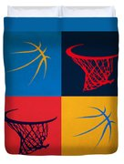 Thunder Ball And Hoop Duvet Cover