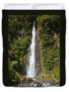 Thunder Creek Falls Duvet Cover