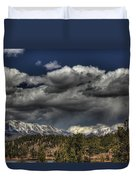Thunder Mountains Duvet Cover