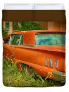 Thunderbird Rusting In Peace Duvet Cover