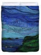Thunderheads Duvet Cover by First Star Art