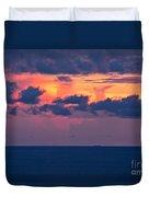 Thundering Sunset Duvet Cover