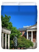 Thurgood Marshall Memorial And Maryland State House Duvet Cover
