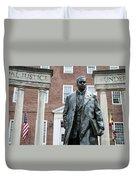Thurgood Marshall Memorial Duvet Cover