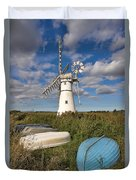 Thurne Dyke Windpump Norfolk Duvet Cover