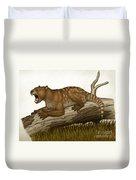 Thylacoleo Carnifex, A Marsupial Duvet Cover