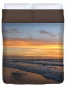 Topsail Island Sunup 2 Duvet Cover