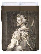 Tiberius Caesar Duvet Cover by Titian