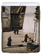 Tibet 2x2x2 By Jrr Duvet Cover